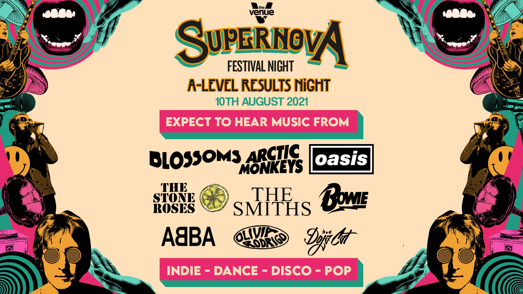 Supernova at Venue Manchester 10th August 2021